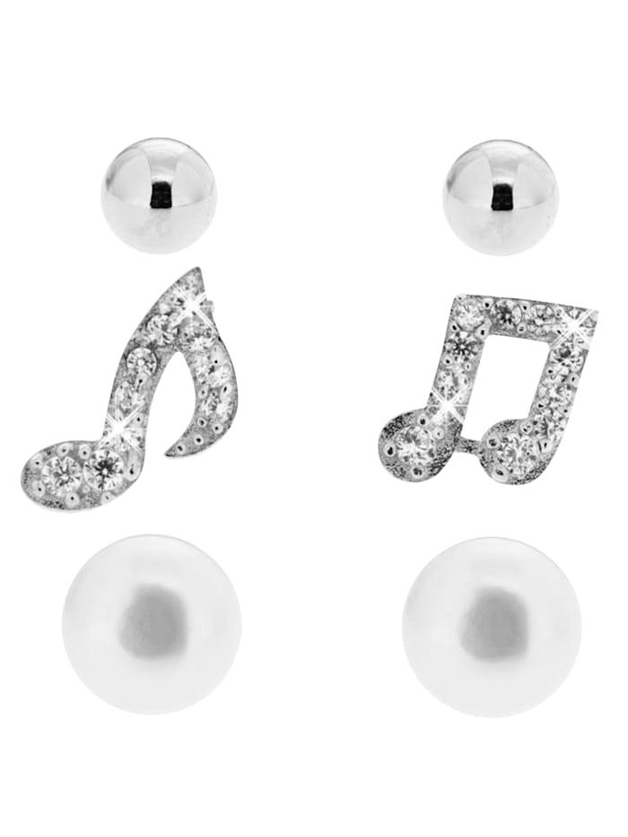 3 par örhängen