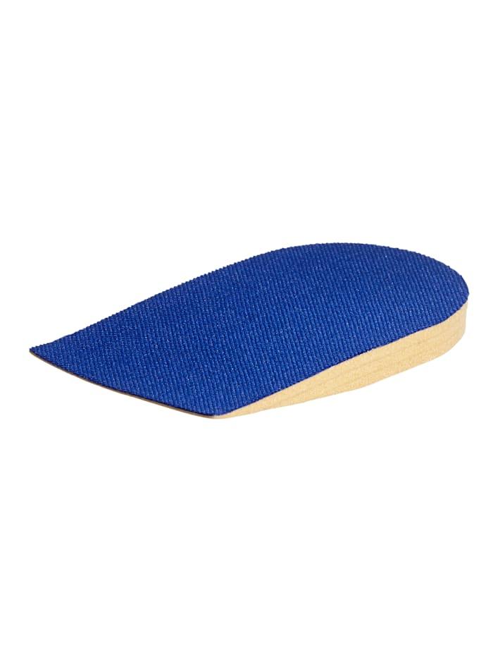 MedoVital Höhenausgleich -Schuheinlage, blau