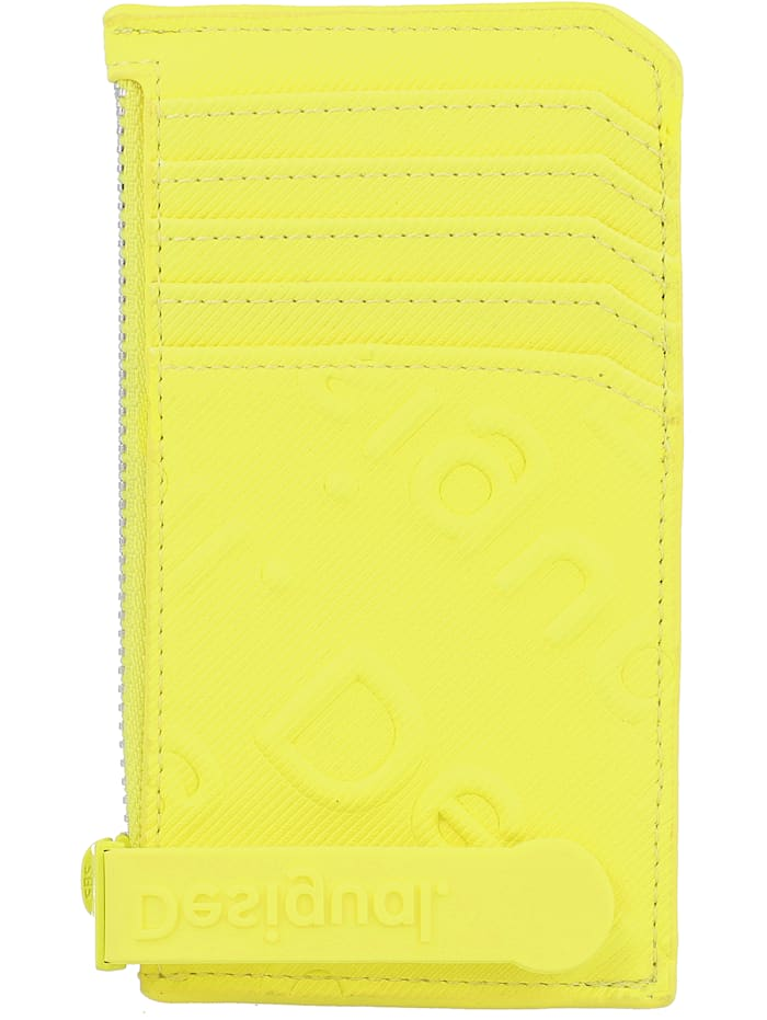 Desigual Colorama Kreditkartenetui 13 cm, amarillo fluor