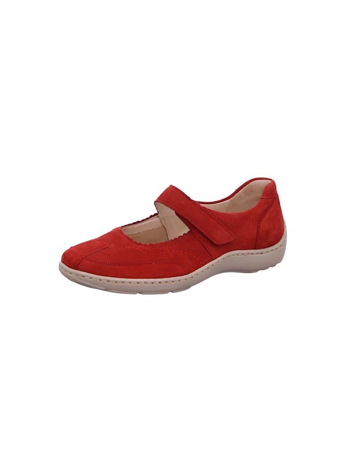 Waldläufer Damen Slipper in rot, rot