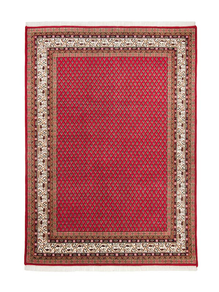 Theko®die Markenteppiche Handknüpfteppich Panipat, Rot