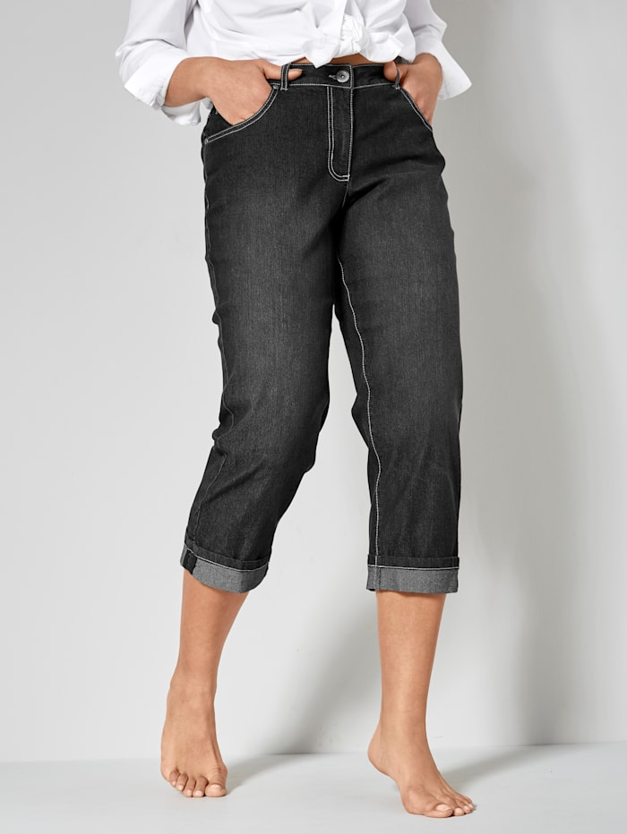 Dollywood Jeans AMY Straight Cut, Zwart