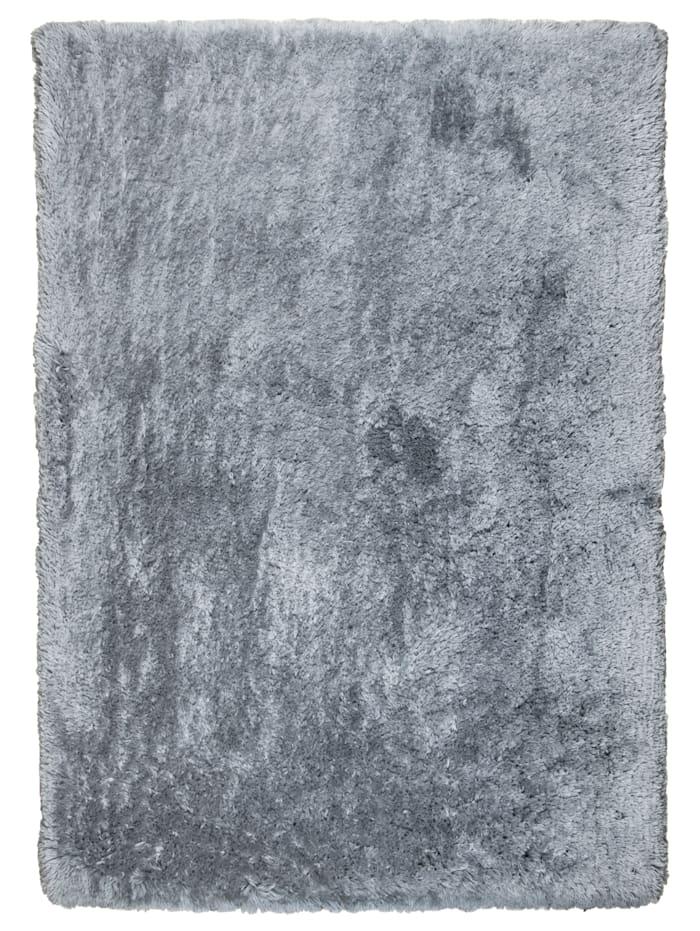 Tom Tailor Hochflorteppich Flocatic, Grau