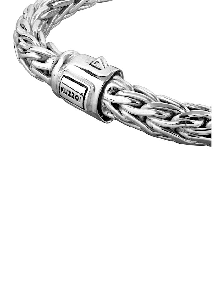 Armband Herren Glieder Basic Kastenverschluss 925Er Silber