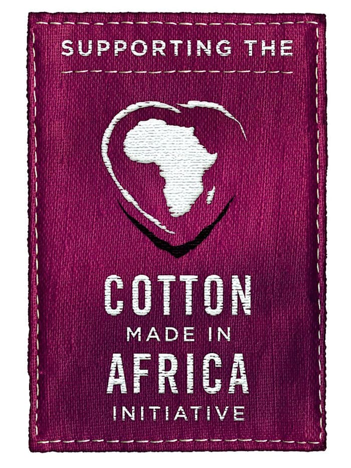 """Joggebukse fra """"Cotton made in Africa""""-serien"""