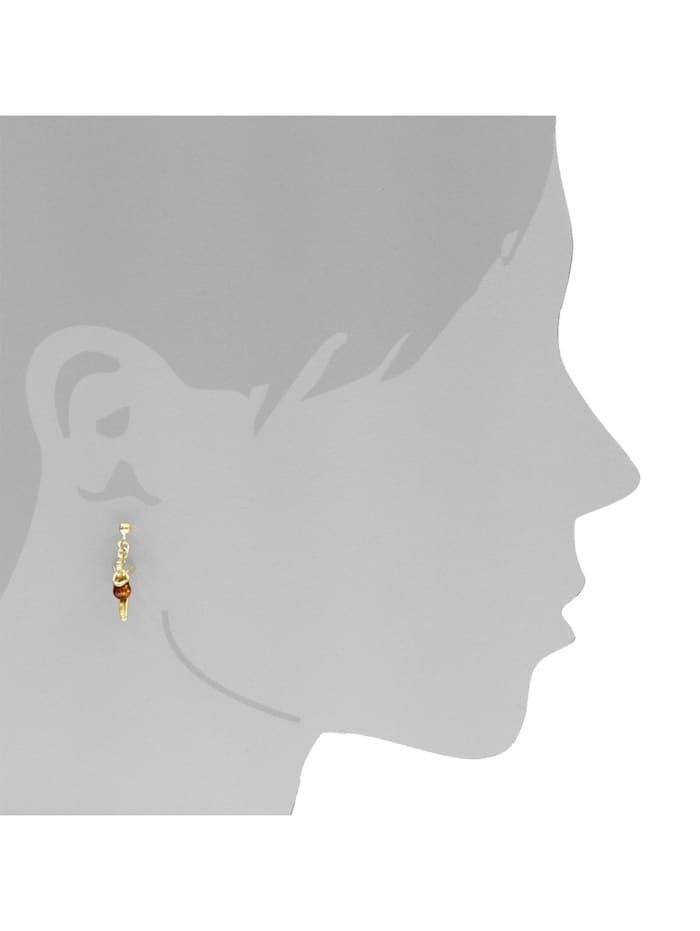 Ohrhänger - Elfe - Gold 333/000 - Bernstein