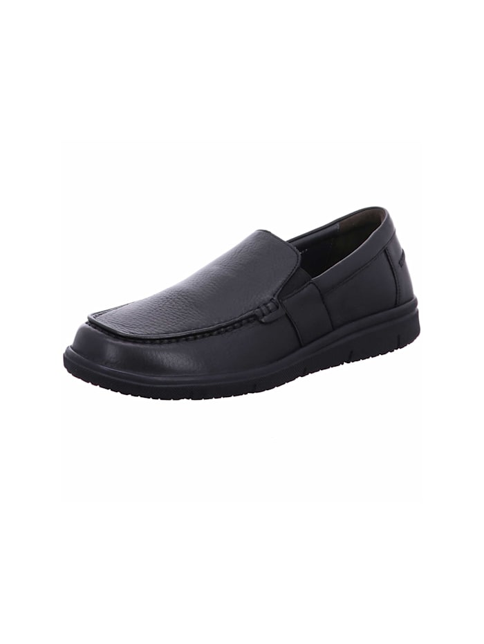 Solidus Slipper, schwarz