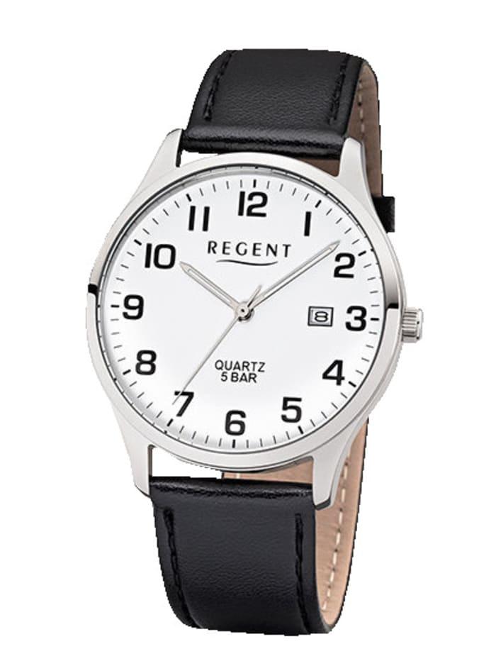 Regent Herrenuhr 11110808, Schwarz