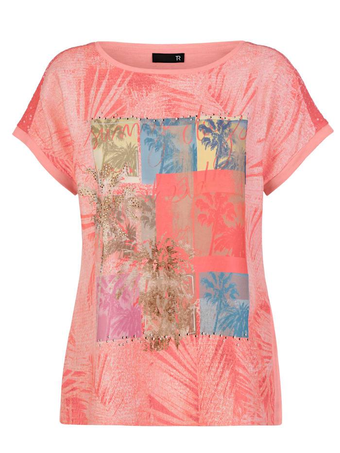 Shirt mit Palmenmotiv