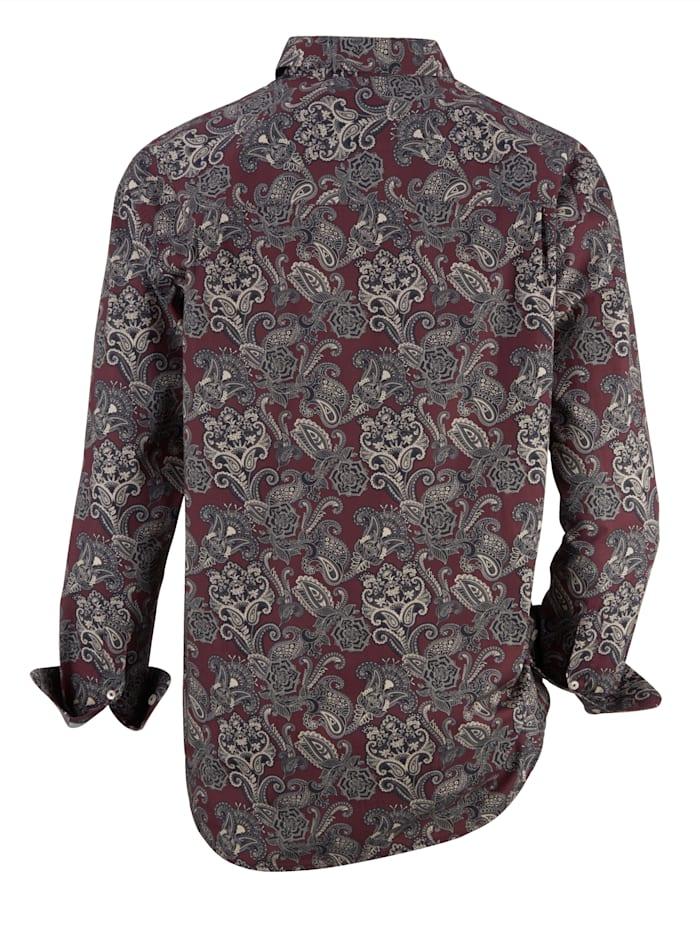 Chemise à motif cachemire