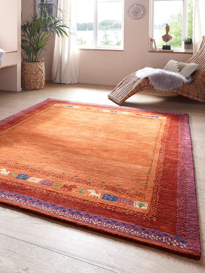 Handtuftad matta