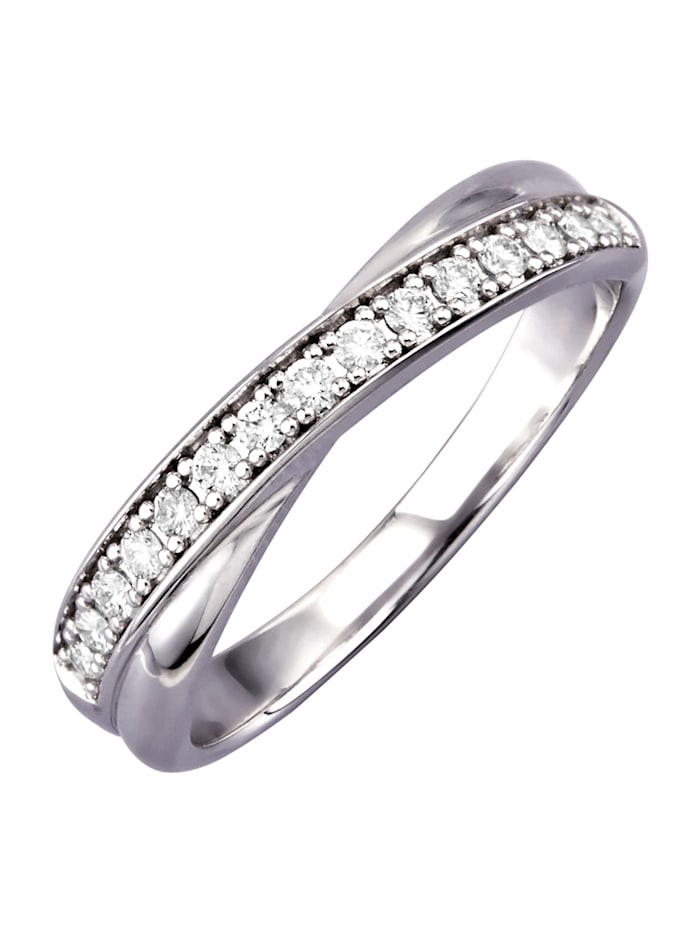 Diemer Diamant Naisten timanttisormus, Valkoinen
