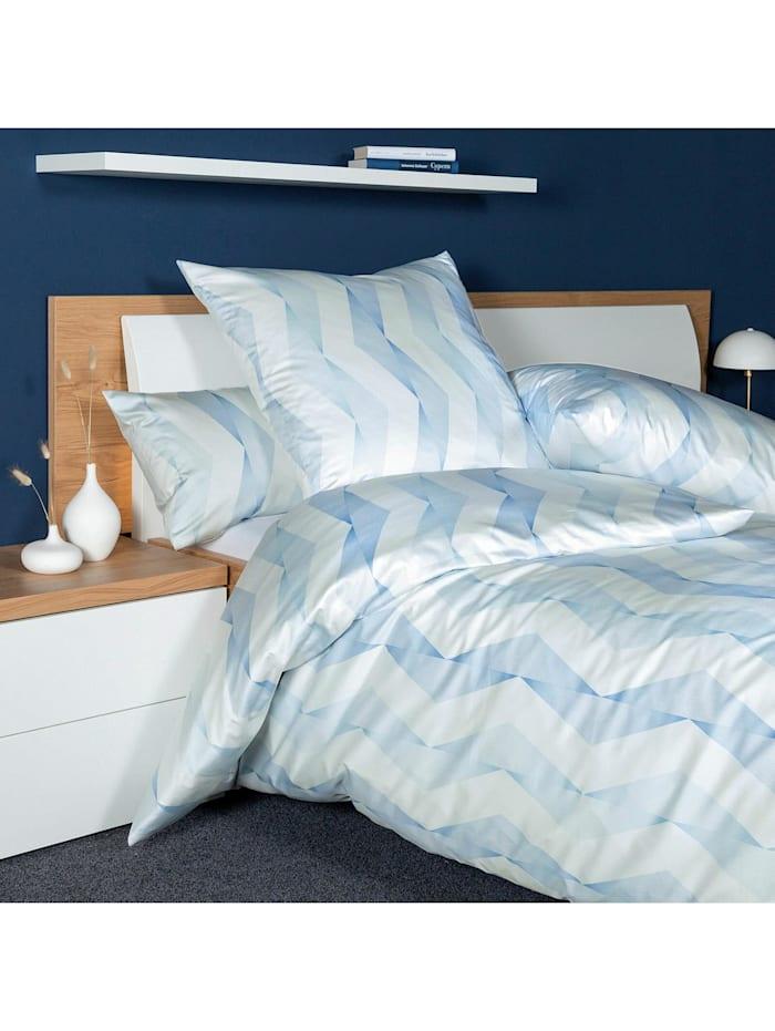 Janine Interlock Feinjersey Bettwäsche Carmen S 55020-02 mineralblau, mineralblau