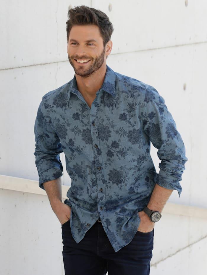 BABISTA Hemd in weicher Twill-Qualität, Blau/Marineblau