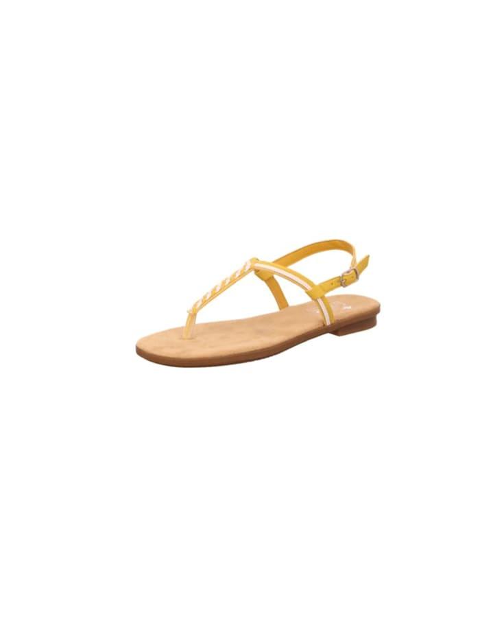 Rieker Sandalen/Sandaletten, gelb