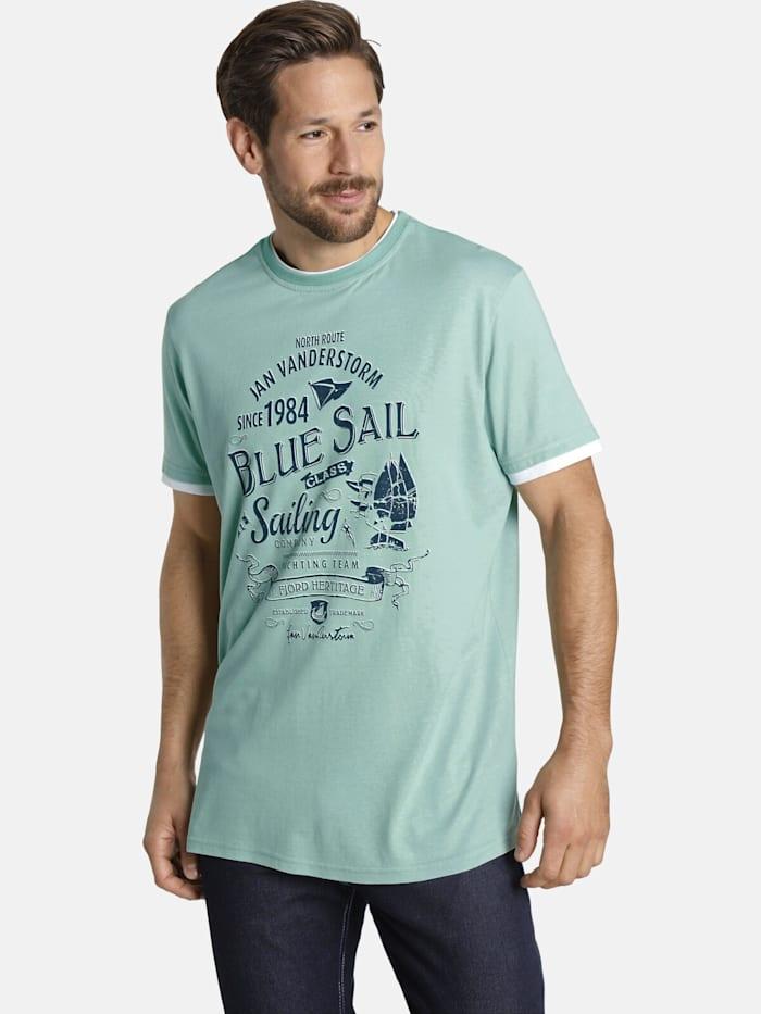 Jan Vanderstorm Jan Vanderstorm T-Shirt NOHR, türkis