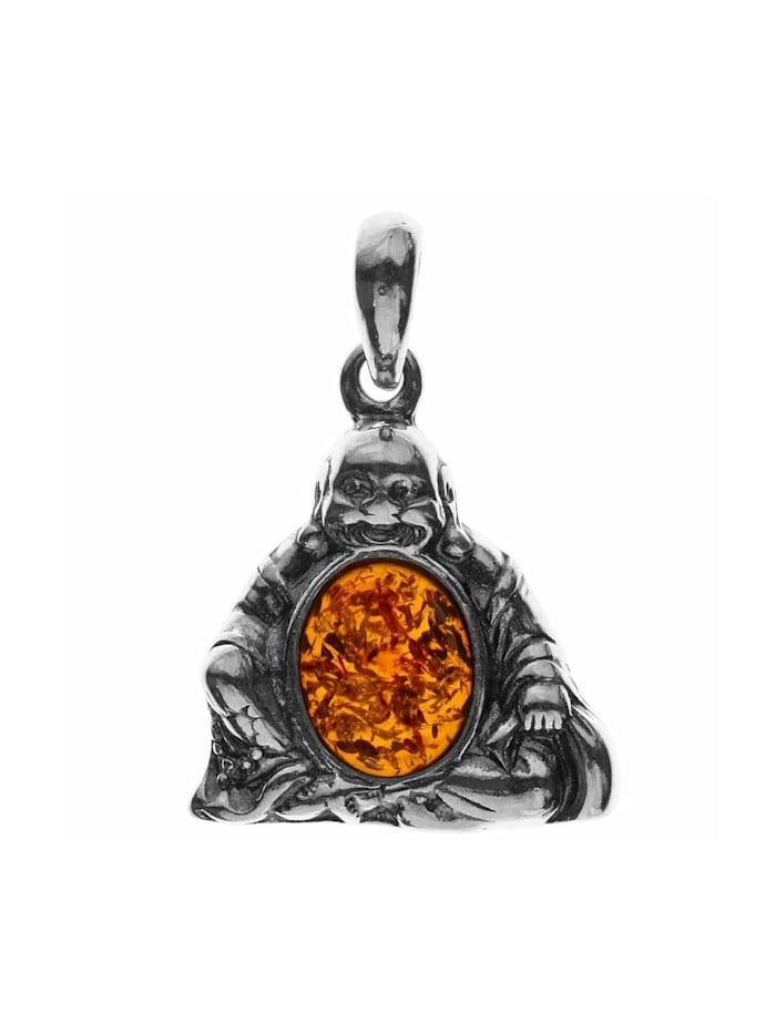 OSTSEE-SCHMUCK Anhänger - Buddha - Silber 925/000 -, silber