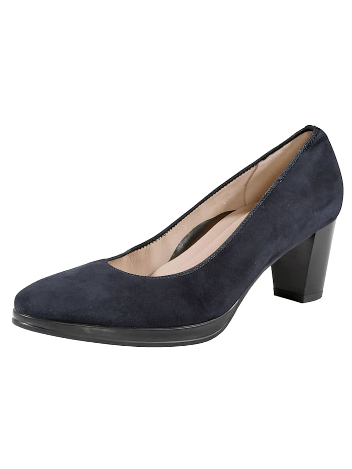 Ara Court shoes in a classic design, Blue