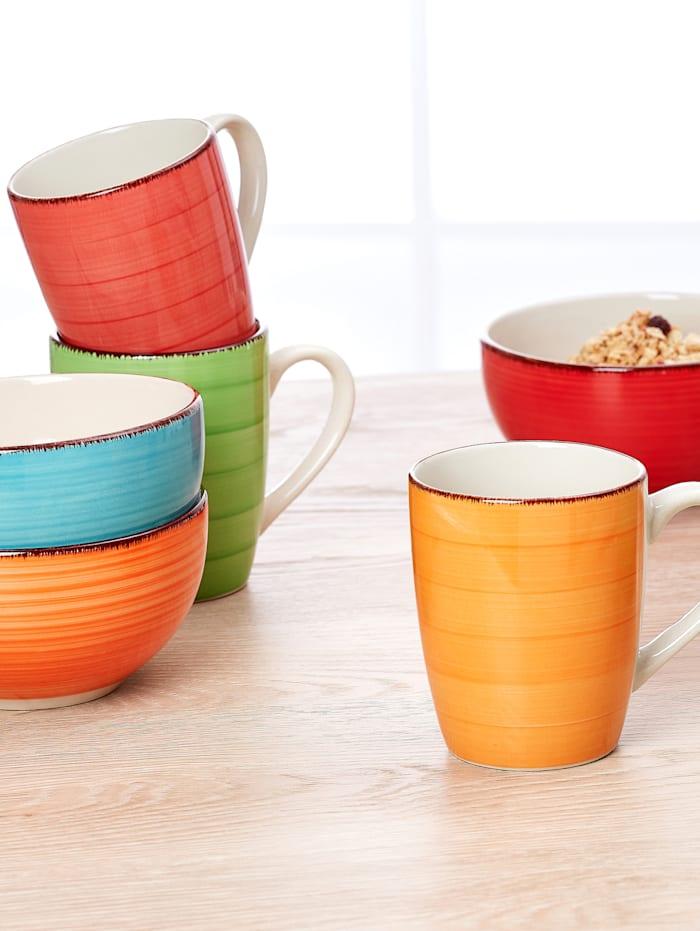 4tlg. Kaffeebecher-Set