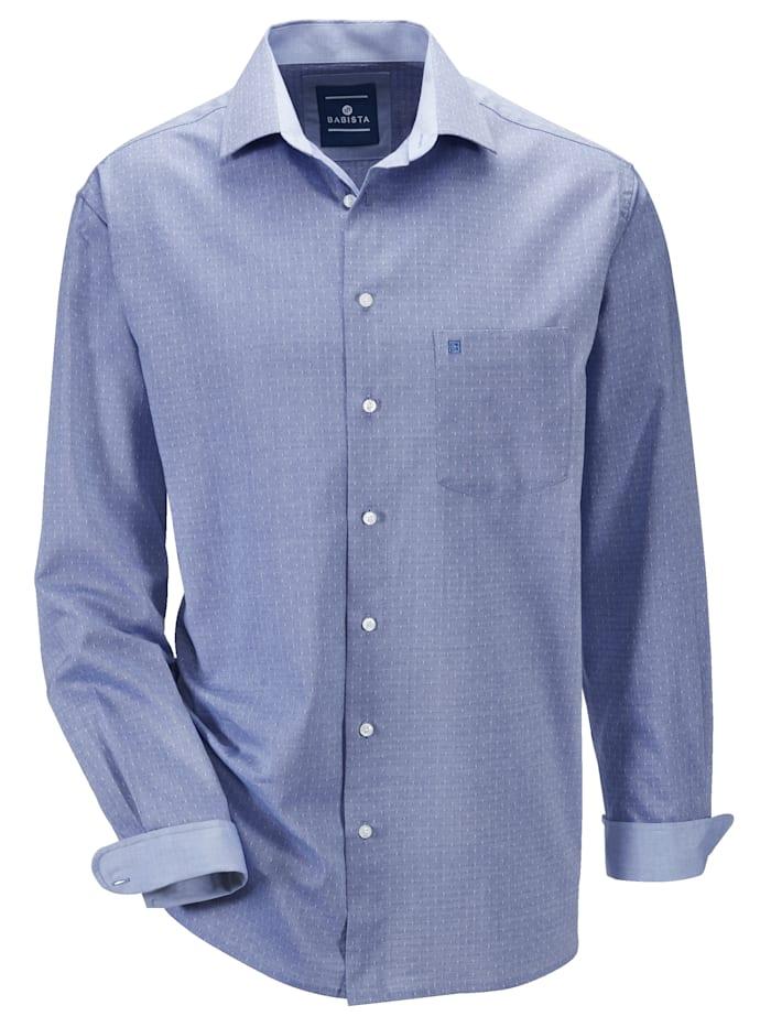 BABISTA Hemd in bügelfreier Qualität, Blau