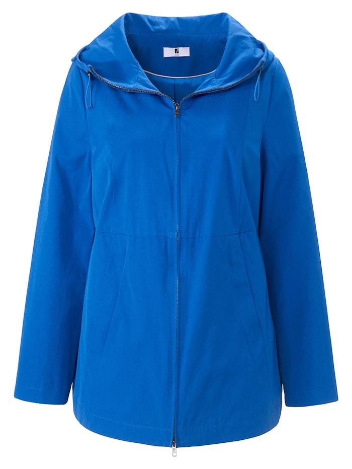 Anna Aura Outdoorjacke Jacke mit Kapuze, kornblumenblau