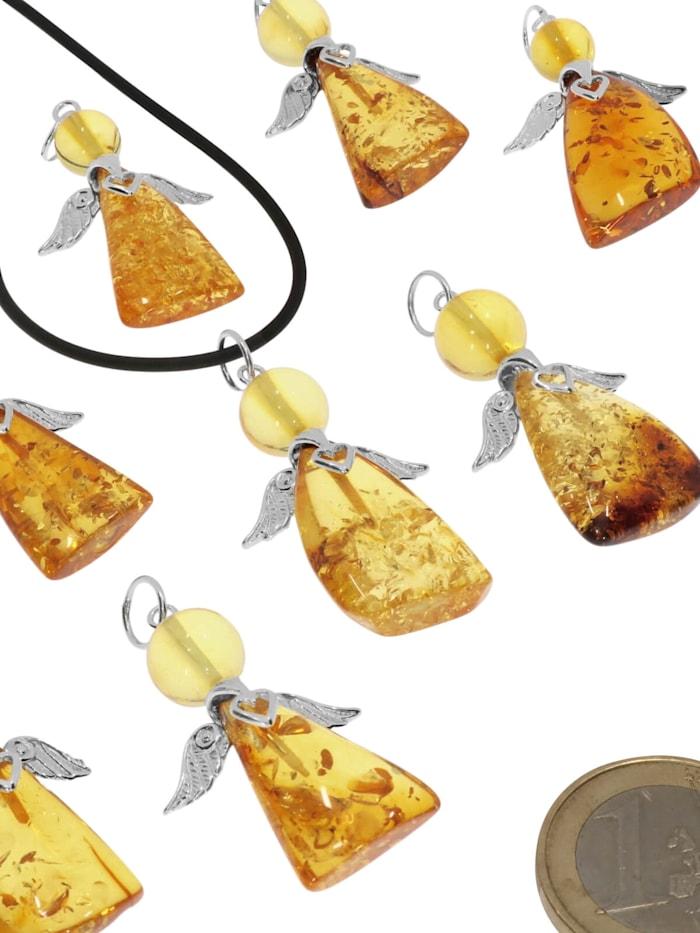 Engel Bernstein Anhänger 925 Silber