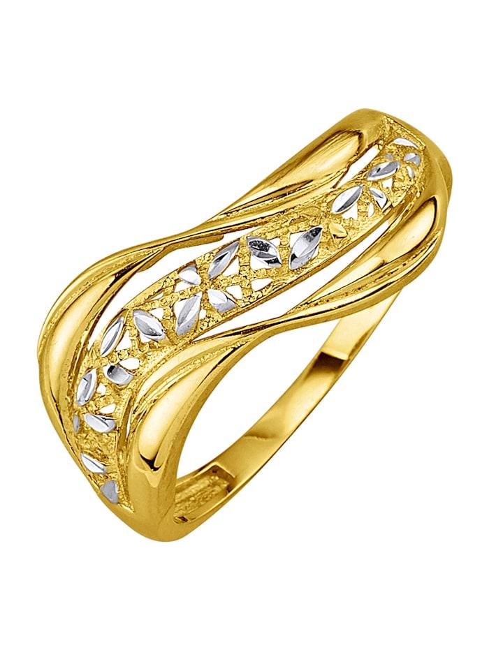 Ring i gull 375, Gullfarget
