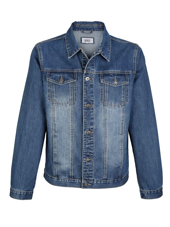 Jeansjacka i klassisk modell