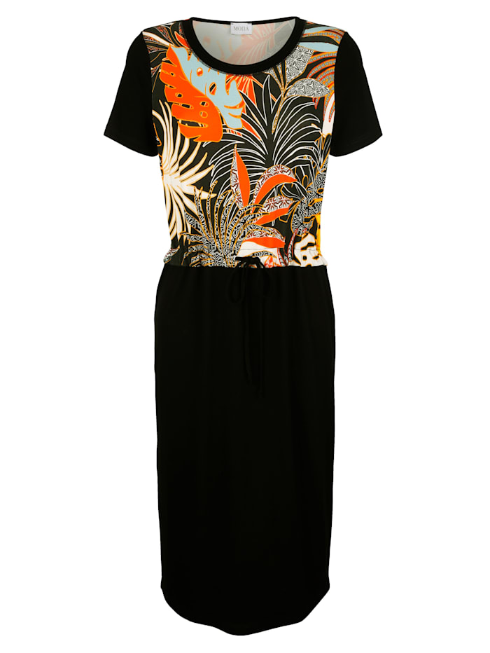 Dress with a vibrant print