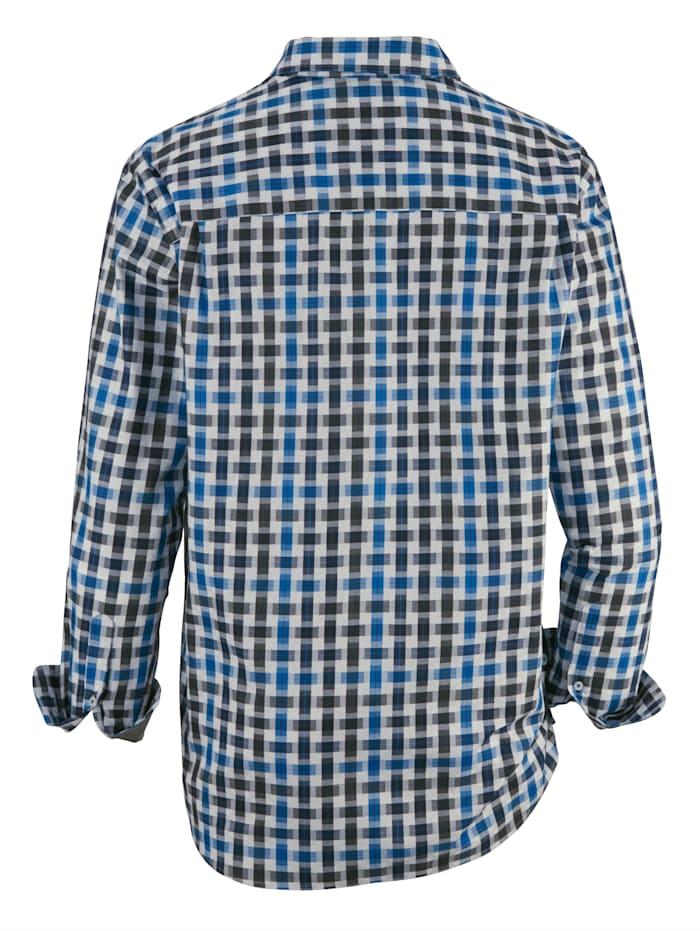 Skjorta med strukturmönster
