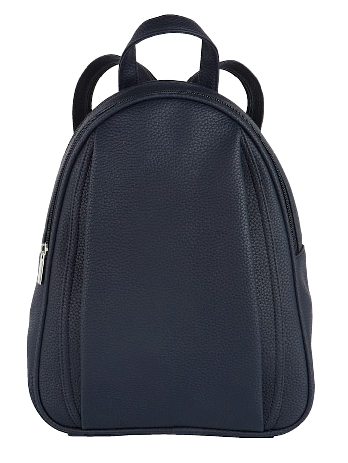 BERNARDO BOSSI Backpack made from a premium fabric, Navy