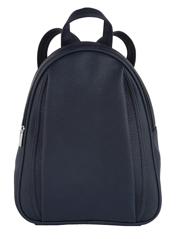 BERNARDO BOSSI Rucksack aus hochwertigem Softmaterial, marine