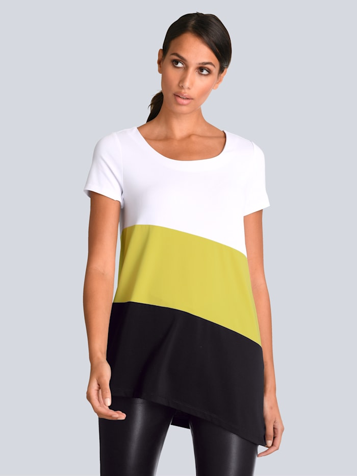Shirt im Colour Blocking Dessin