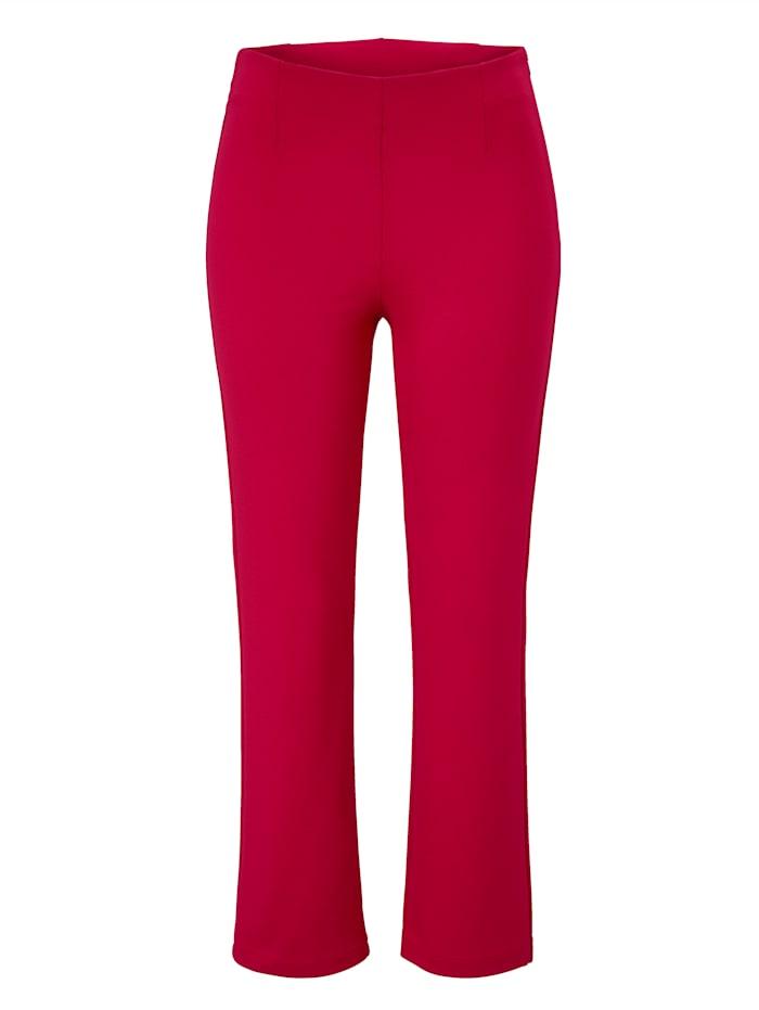 REKEN MAAR Pantalon, Rouge
