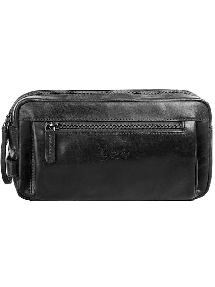 X-Zone Kulturtasche, schwarz