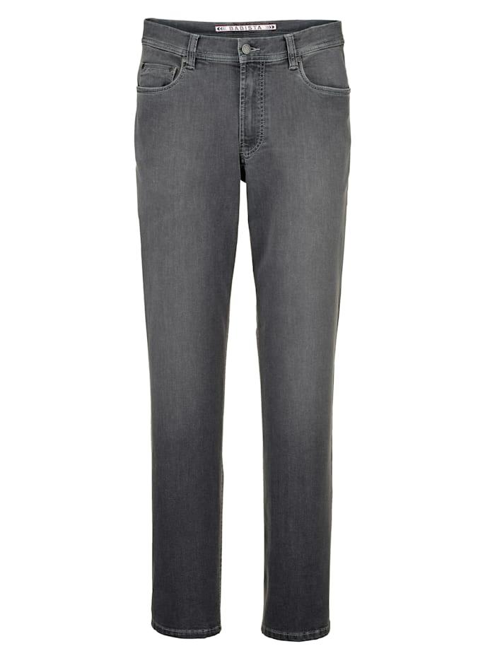 Babista Premium Jeans i mycket elastiskt material, Grå