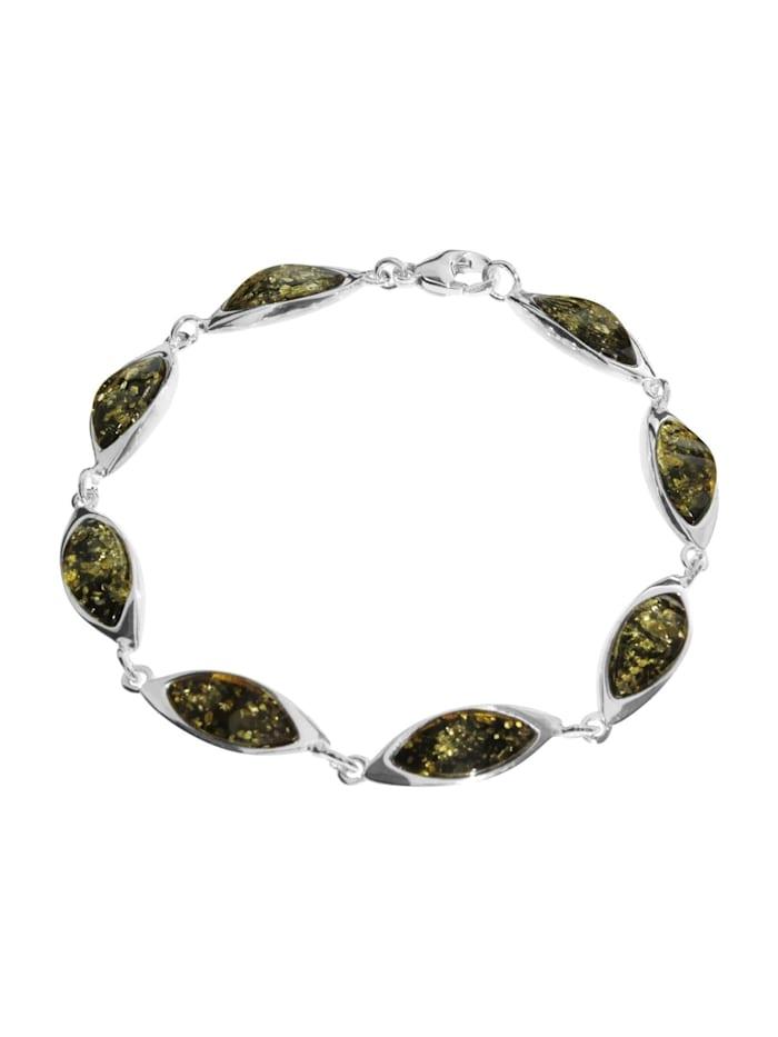 OSTSEE-SCHMUCK Armband - Tonje - Silber 925/000 - Bernstein, silber