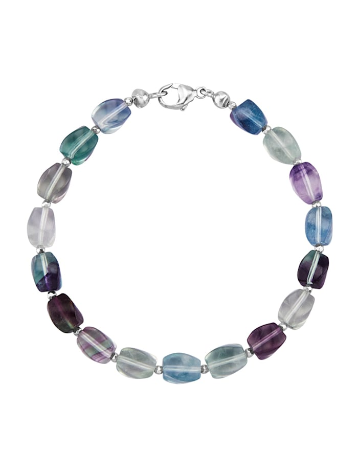 Armband in Silber 925, Multicolor