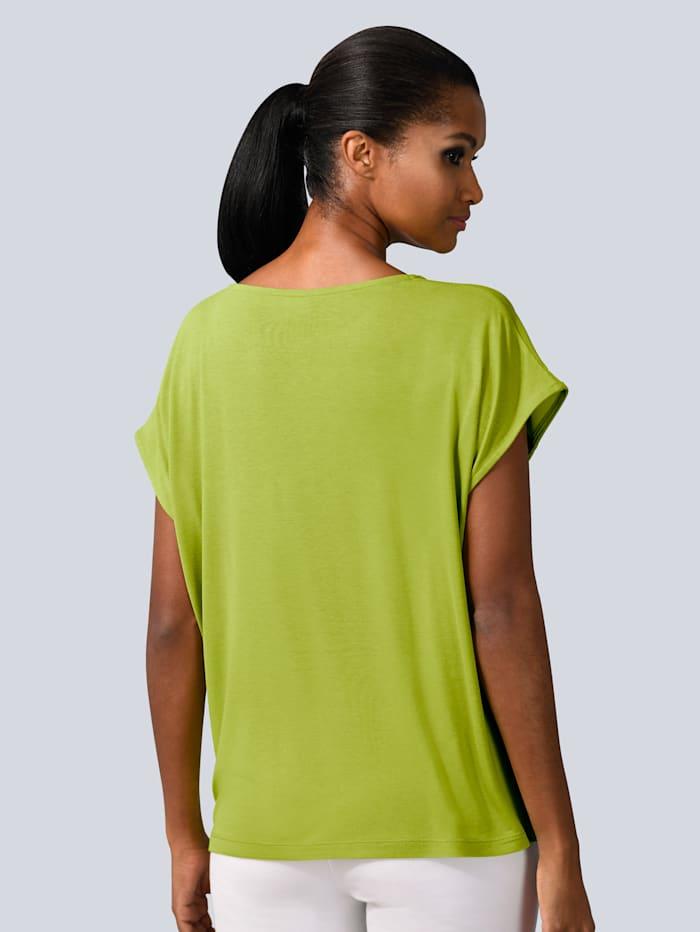 Shirt in kräftiger Farbgebung