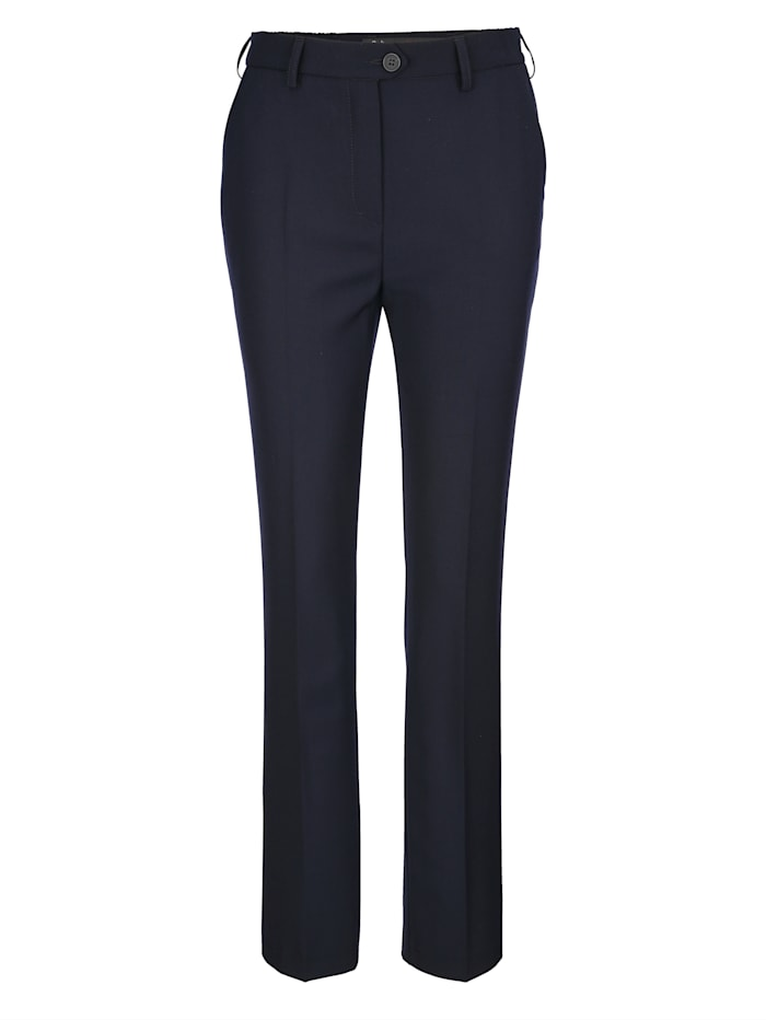 Hose mit hochwertiger Schurwolle