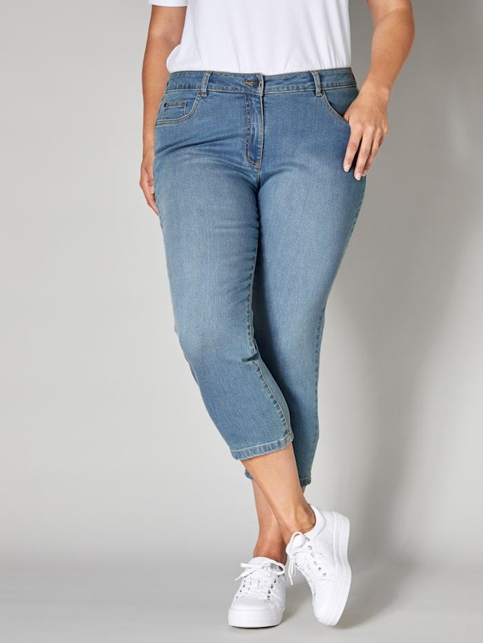 Janet & Joyce 7/8 Jeans, Hellblau