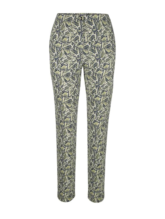 Pantalon à jacquard graphique