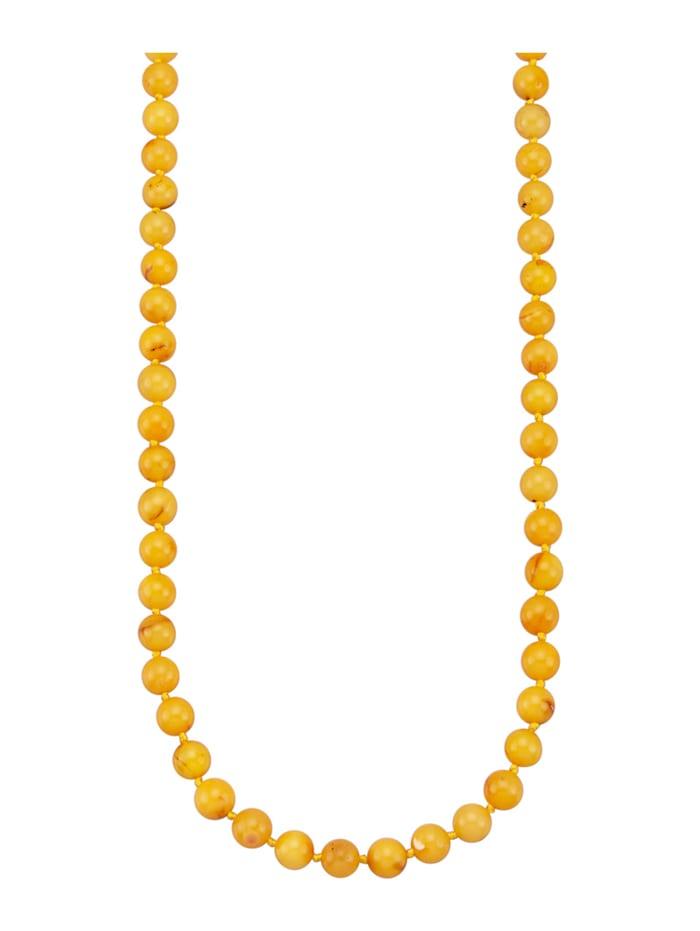 Bernsteinkette, Gelbgoldfarben