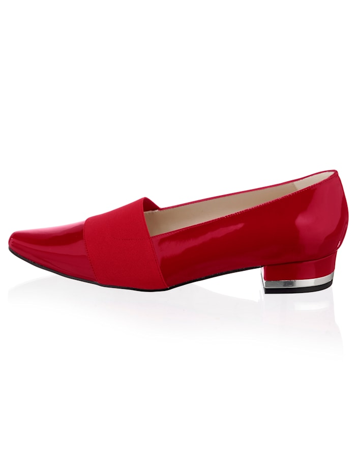 Alba Moda Pumps in modischer Lack-Optik, Rot