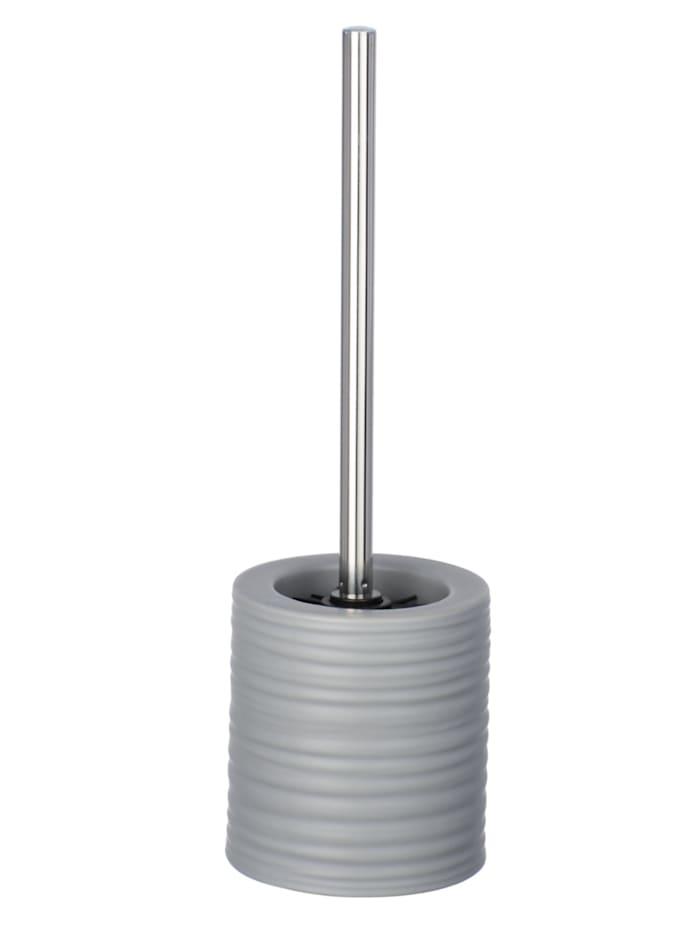 Wenko WC-Garnitur Mila Grau Keramik, Grau