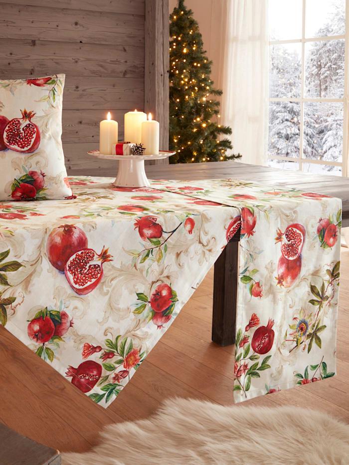 Hossner Tischwäsche 'Granatapfel', Rot