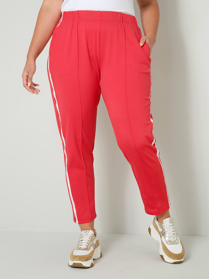 Sweatpants in sportieve look