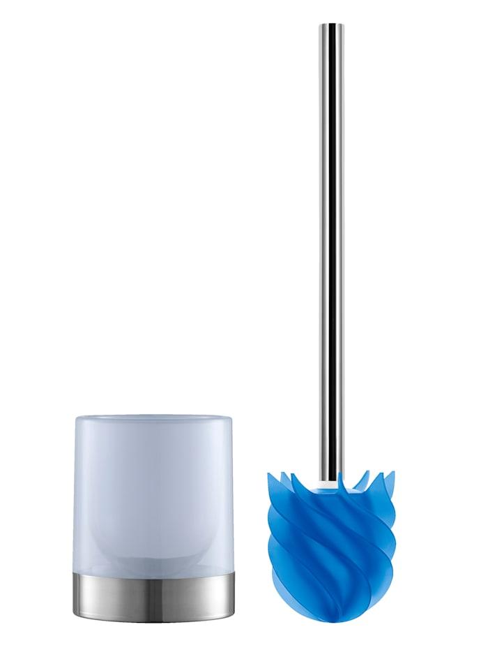DS Produkte LOOMAID Silikon WC-Bürste mit Lotus-Effekt, Blau