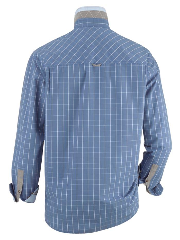 Hemd mit Druck auf der Brust & Innenmanschette