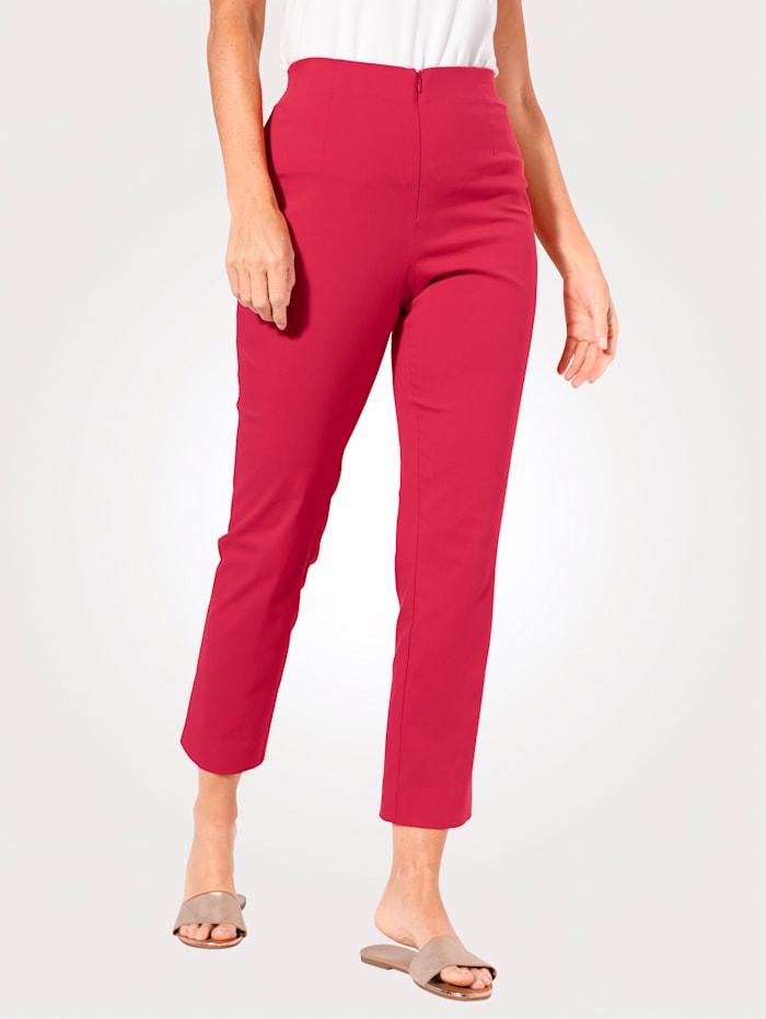 MONA Knöchelhose mit Baumwolle Basic, Rot